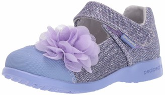 pediped Girls' Estella Mary Jane Flat