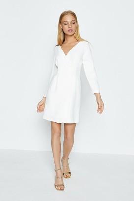 Coast Crepe Long Sleeve Dress