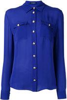 Balmain long sleeve shirt - women - Silk - 36