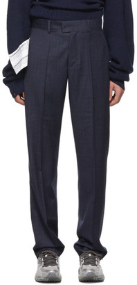 Vetements Navy New Classic Trousers