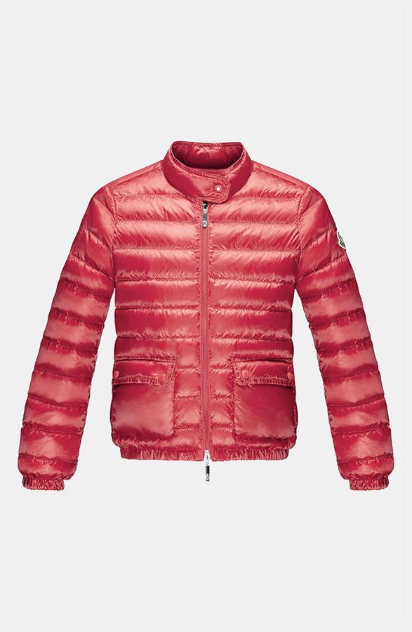 Moncler 'Lans' Jacket (Toddler, Little Girls & Big Girls)