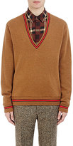Givenchy Men's Fine-Gauge Knit Sweater-TAN