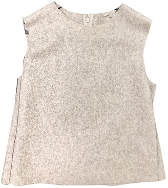 Cos Grey Wool Jacket for Women