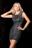 Scala 48484 Dress In Charcoal