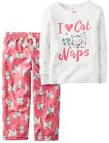 Carter's Girls 4-14 Graphic Pajama Set
