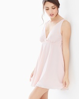 Soma Intimates Double Layer Babydoll Sleep Chemise Porcelain