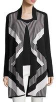 Nic+Zoe Frontline Reversible Knit Jacket, Plus Size