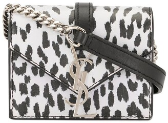 Yves Saint Laurent Pre Owned Animal Print Mini Bag