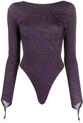 Maisie Wilen Knitted Bodysuit