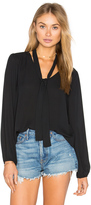 Eight Sixty Long Sleeve V Neck Blouse