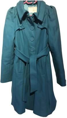 Byblos Green Cotton Coats