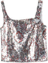 Paco Rabanne Sequin Tank Top