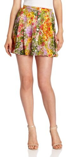 MinkPink Women's Paint By Numbers Skirt