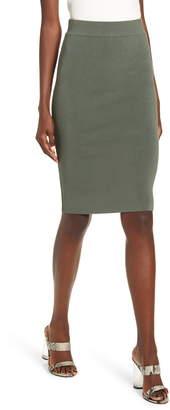 Leith High Waist Body-Con Skirt