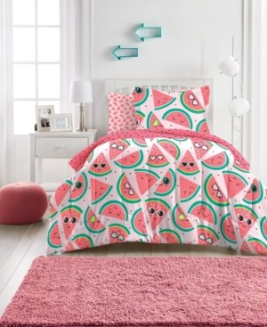 Dream Factory Watermelon Jam Bed in a Bag, Full Bedding