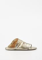 Marsèll platinum arsella thong sandal