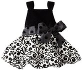 Mud Pie Baby-girls Infant Damask Party Dress