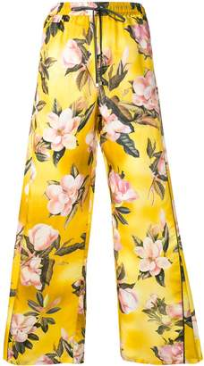 F.R.S For Restless Sleepers flared floral track pants