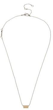 AllSaints Geometric Delicate Pendant Necklace, 20-22