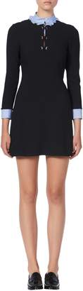 Sandro Delna Mini A-Line Dress