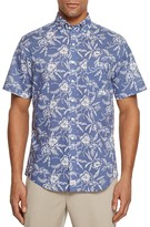 Vineyard Vines Aquatic Hibiscus Dot Murray Regular Fit Button-Down Shirt