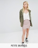 Missguided Petite Premium Bandage Mini Skirt