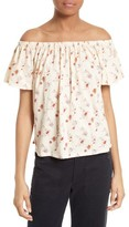 Rebecca Taylor Women's Wild Posey Off The Shoulder Top