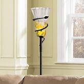 Dale Tiffany Dale TiffanyTM LED Spiral Leaf Torchiere