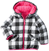 Carter's Gingham Puffer Jacket