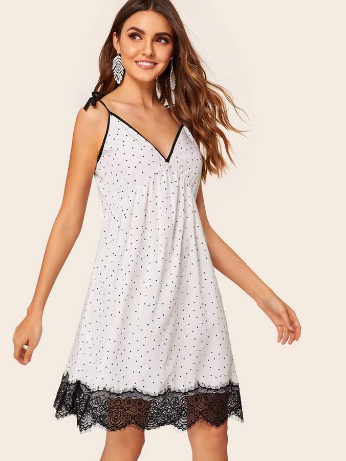 c738ab767b64 White Lace Slip Dress - ShopStyle