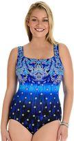 Great Lengths Women's Great Lengths High Tide Tummy Slimmer Crisscross One-Piece Swimsuit