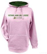John Deere NRLAD Womens Fleece Pull Over Hoodie