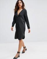 Vero Moda Oversized V Neck Dress