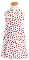 Oscar de la Renta Girl's Carnation Bud Sleeveless Dress