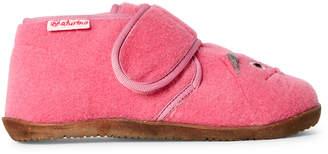 Naturino Toddler/Kids Girls) Pink Cat Felt Ankle Boots