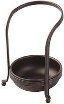 InterDesign York Houseware, Upright Spoon & Spatula Rest for Kitchen Countertops - Bronze