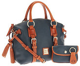 Dooney & Bourke As Is Pebble Leather Domed Satchel