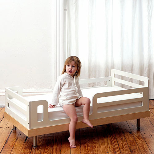 Oeuf Crib Toddler Bed Conversion Kit in White