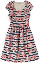Cath Kidston Large Anemone Stripe Dress