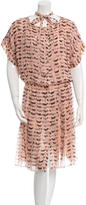 Thakoon Printed Silk Dress