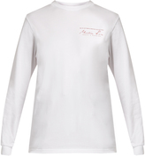Martine Rose Long-sleeved cotton-jersey T-shirt