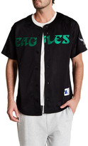 Mitchell & Ness NFL Eagles Mesh Front Button Shirt