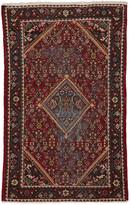Rejuvenation Hand-Knotted Persian Rug w/ Diamond