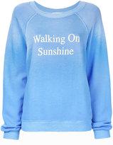 Wildfox Couture Walking On Sunshine sweatshirt