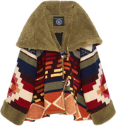 Lindsey Thornburg Cedar Mountain Trench Cloak with Shearling