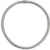 John Hardy Dot Small Chain Necklace with Pusher Clasp (Silver) Necklace