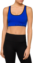Calvin Klein Seamless Crop Top with Criss Cross Back and Removable Cups