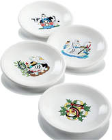 Fiesta Twelve Days of Christmas Set of 4 Salad/Dessert Plates, Second Series in a Series of Three