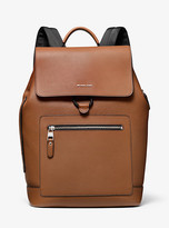 Michael Kors Hudson Pebbled Leather Backpack