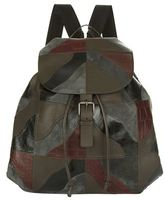 Bottega Veneta Contrast Panel Backpack
